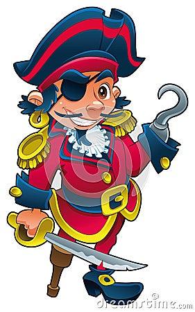 Pirata engraçado