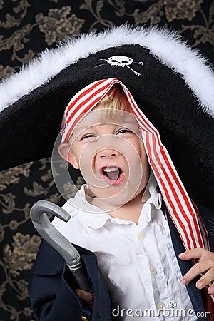Free Pirate Boy Royalty Free Stock Photo - 4331905
