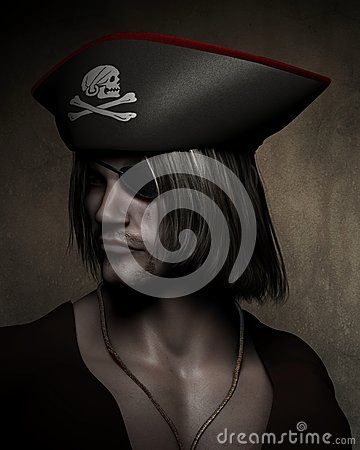 Pirate Captain Portrait