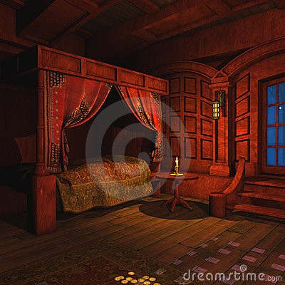 Free Pirate Captains Cabin Royalty Free Stock Images - 12758679