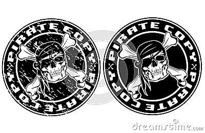 Pirate copy stamp