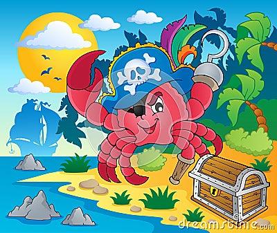 Pirate crab theme image 2