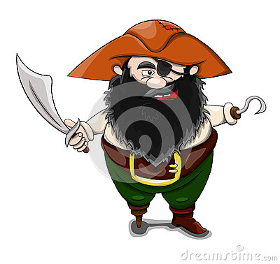 Pirate Stock Vector - Image: 62673419