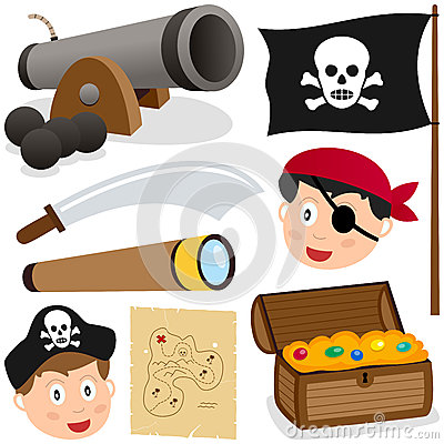 Pirate Elements Collection