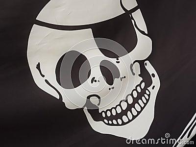 Pirate flag detail