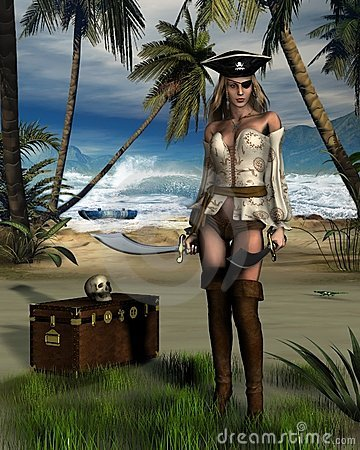 Free Pirate Island Stock Photos - 5700303