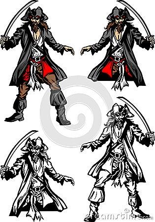 Free Pirate Mascot Logo Stock Photos - 17010063