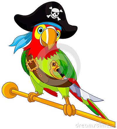 Free Pirate Parrot Stock Photo - 32427470