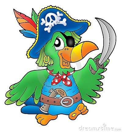 Free Pirate Parrot Royalty Free Stock Photography - 5614697