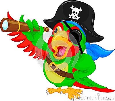 Pirate Parrot Cartoon ...