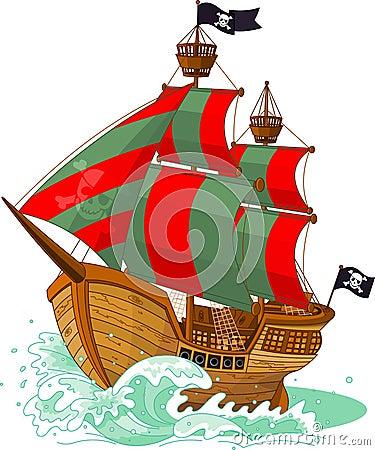 Free Pirate Ship Stock Photos - 25235693