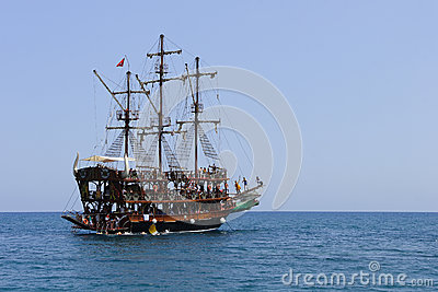 Pirate Ship Editorial Image