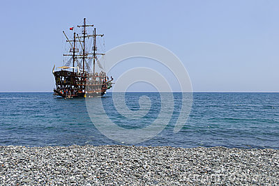 Pirate Ship Editorial Photography