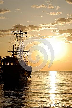 Free Pirate Ship Stock Photos - 5472693