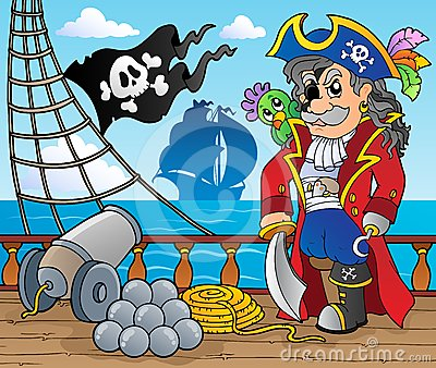 Pirate ship deck theme 3