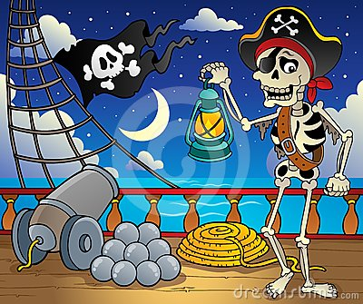 Pirate ship deck theme 6