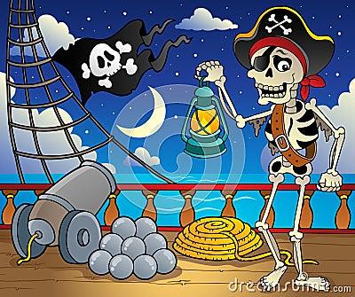Pirate ship deck theme 6
