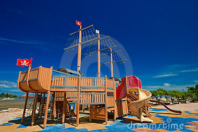 Free Pirate Ship Playground Plans