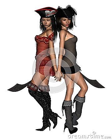 Pirate Sisters