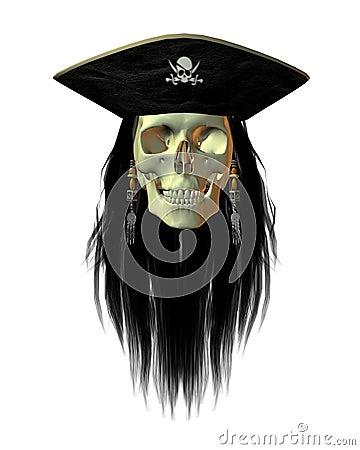 Pirate Skull - 1