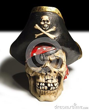 Free Pirate Skull Stock Image - 31942701