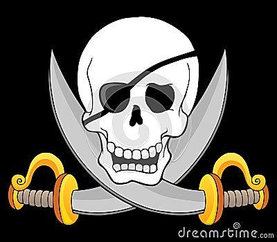 Pirate skull theme 3