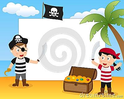 Pirates & Treasure Photo Frame