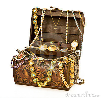 Free Pirate&x27;s Treasure Chest Royalty Free Stock Images - 17258079