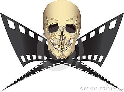 Pirated Movie Royalty Free Stock Photography - Image: 23861197