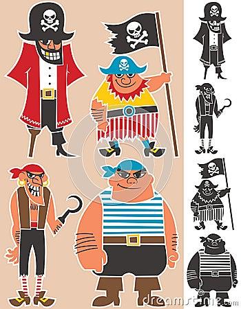 Free Pirates Royalty Free Stock Photos - 24591758