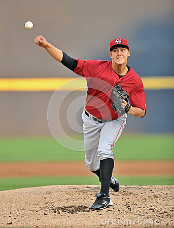 Pirates baseball prospect Jameson Tailon Editorial Photography