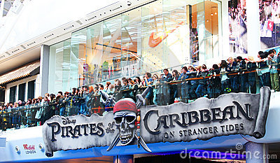 Pirates of the Caribbean: On Stranger Tides Editorial Stock Image
