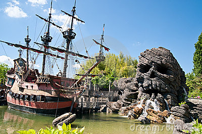 Pirates of Caribbean Theme Editorial Stock Image