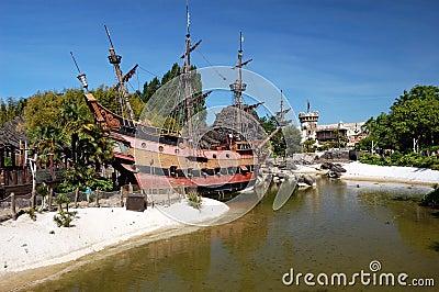 Pirates of caribbean theme Editorial Photo