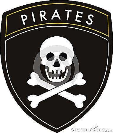 Free Pirates Flag Stock Photography - 9724682