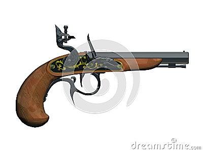 Pirates gun
