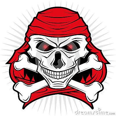 Pirates skull logo