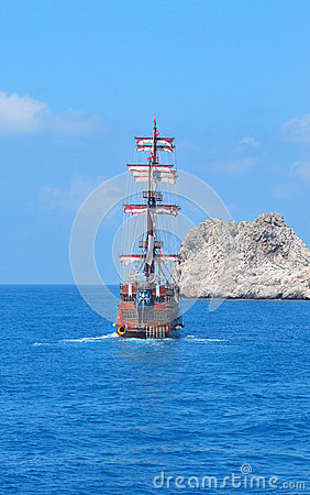 Piratical ship