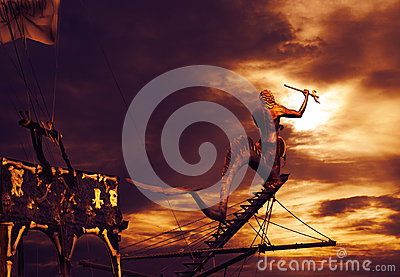 Piratkopiera skeppet