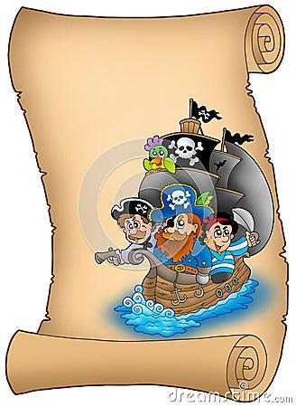 Piratów saiboat ślimacznica