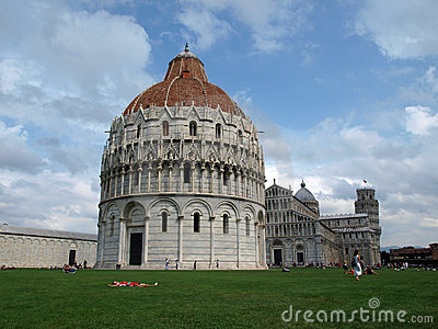 Pisa - Baptistery, Leaning Tower and Duomo
