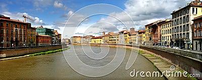 Pisa cityscape.