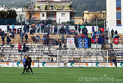 Pisa supporters Editorial Stock Photo