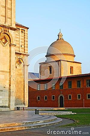 Pisa town monuments