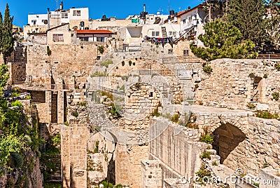 Piscine antique des ruines de bethesda vieille ville for Piscine de bethesda