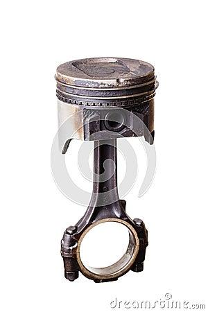 Pistão usado do motor