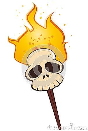 Pista de muertes en el fuego