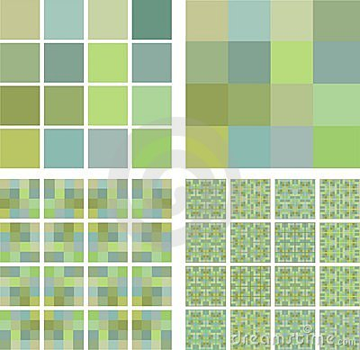 Pistachio color tiles