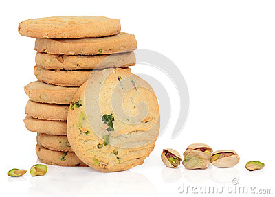Pistachio Nut Biscuits