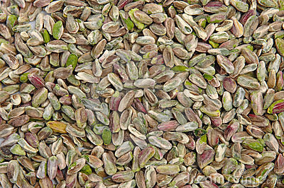 Pistachio nut without peel